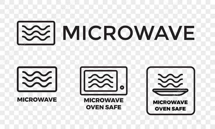 Microwave Safe Symbols