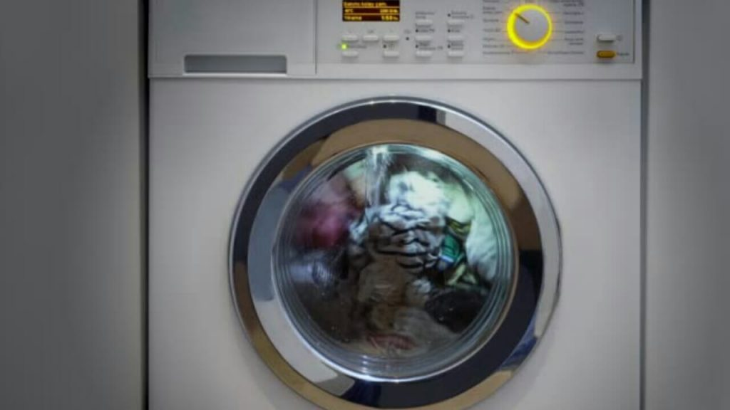Washing machine is making a whining noise when spinning